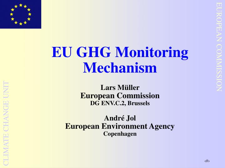 EU GHG Monitoring Mechanism