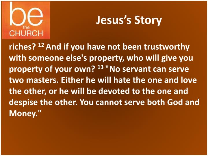 Jesus's Story