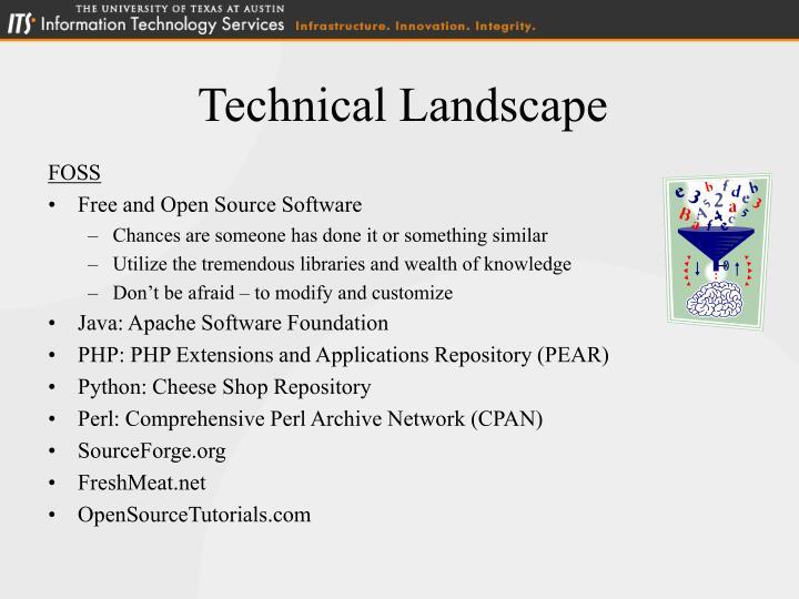 Technical Landscape