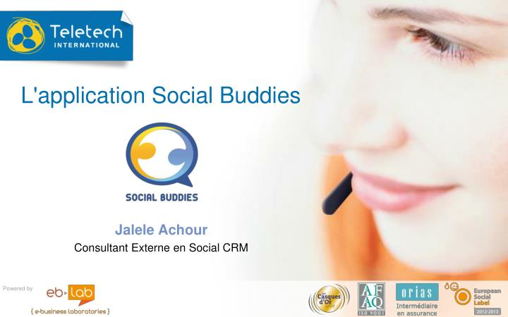 L application social buddies