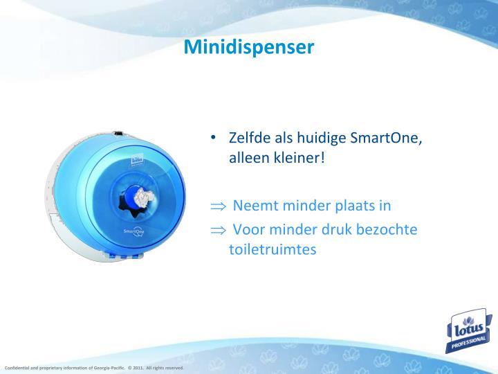 Minidispenser