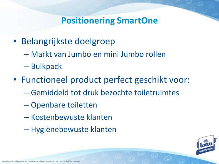 Positionering SmartOne
