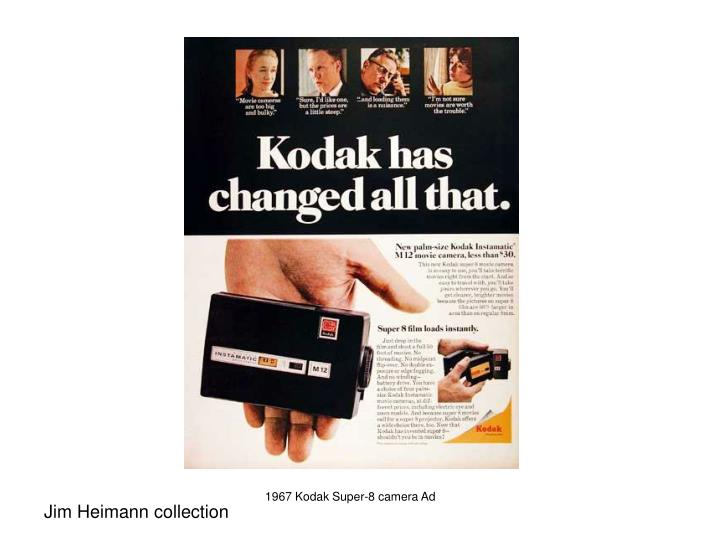 1967 Kodak Super-8 camera