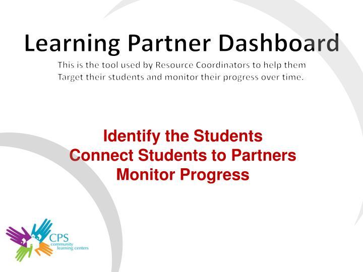 Learning Partner Dashboard