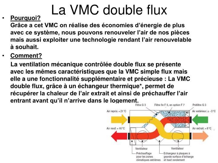La VMC double flux
