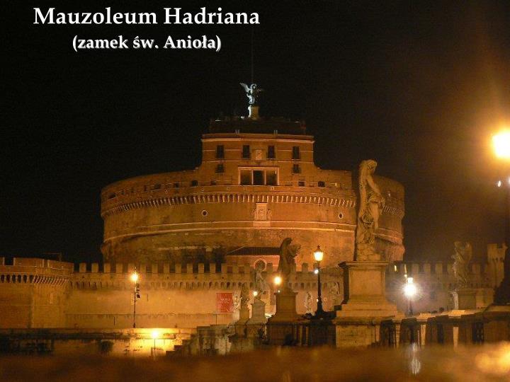 Mauzoleum Hadriana