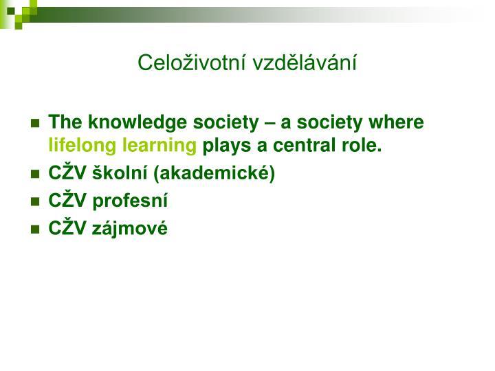 Celoživotní vzdělávání