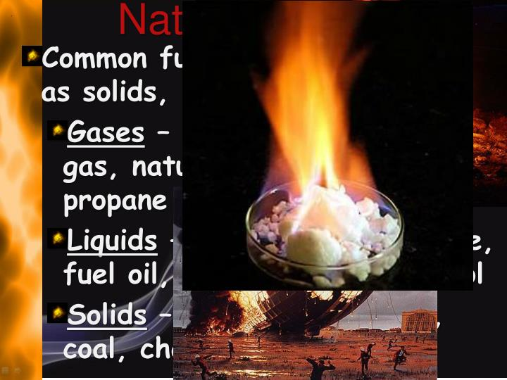 Nature of Fuels