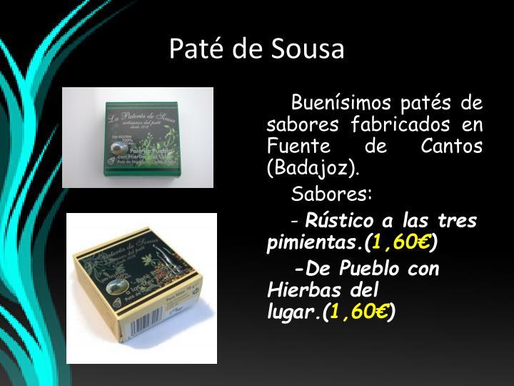 Paté de Sousa