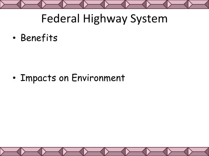 Federal Highway System