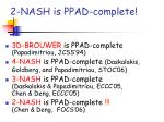2 nash is ppad complete