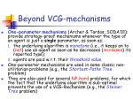 beyond vcg mechanisms