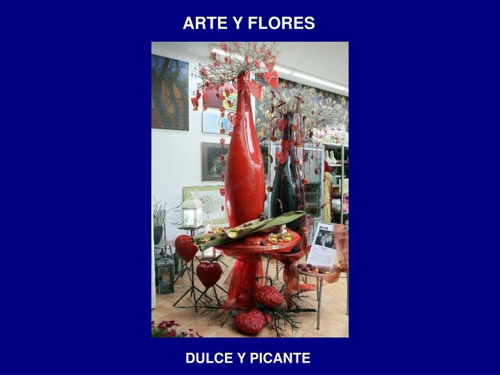 ARTE Y FLORES