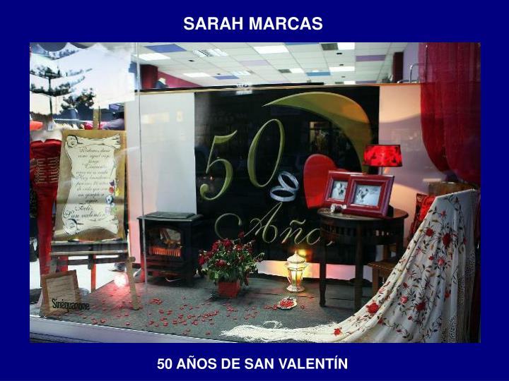 SARAH MARCAS