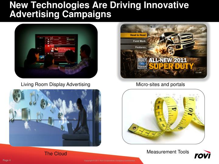 New Technologies Are Driving Innovative Advertising Campaigns