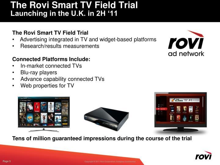The Rovi Smart TV