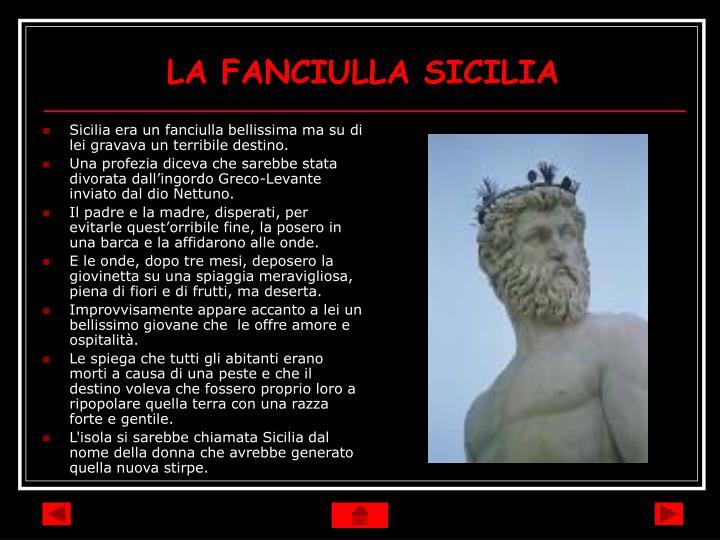 LA FANCIULLA SICILIA