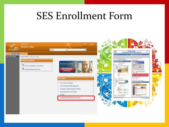SES Enrollment Form