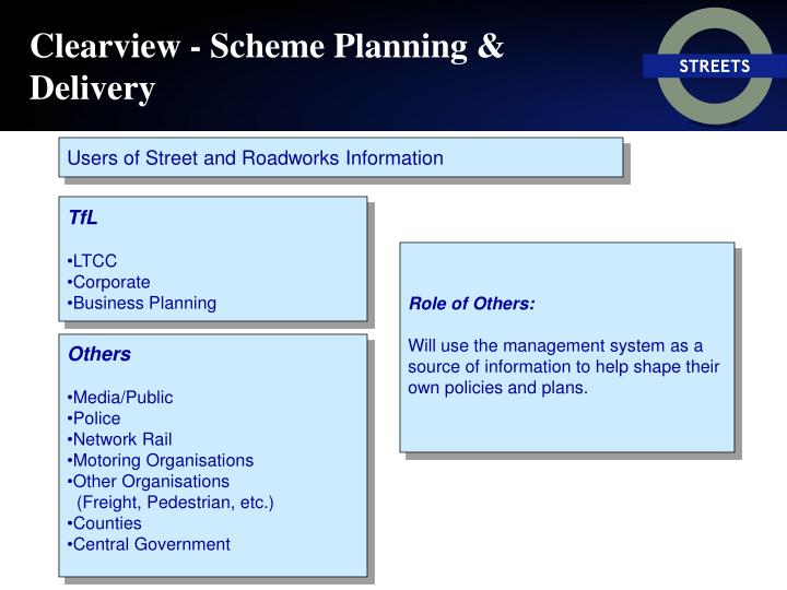 Clearview - Scheme Planning & Delivery
