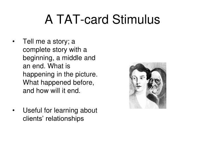 A TAT-card Stimulus