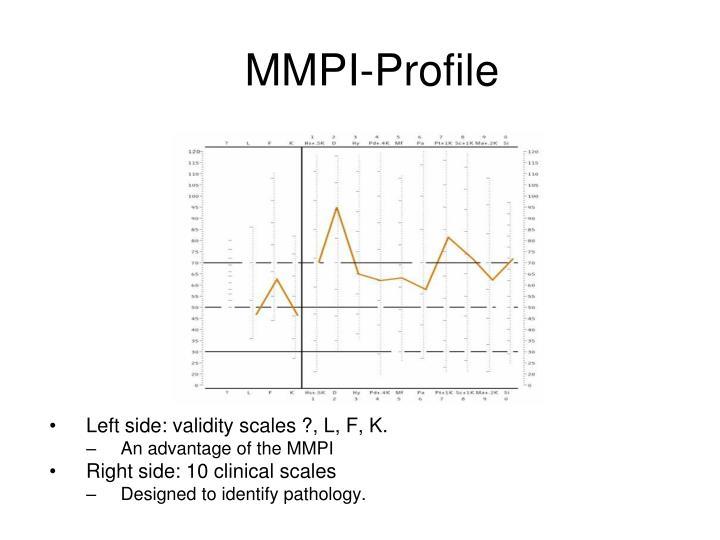 MMPI-Profile