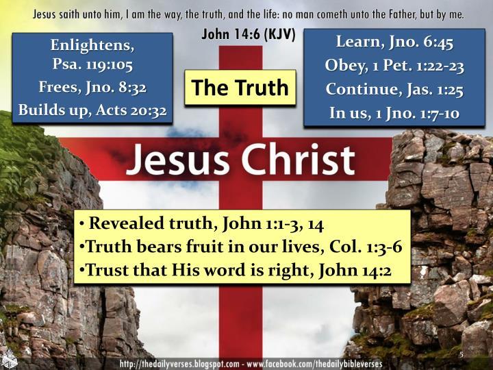 Learn, Jno. 6:45