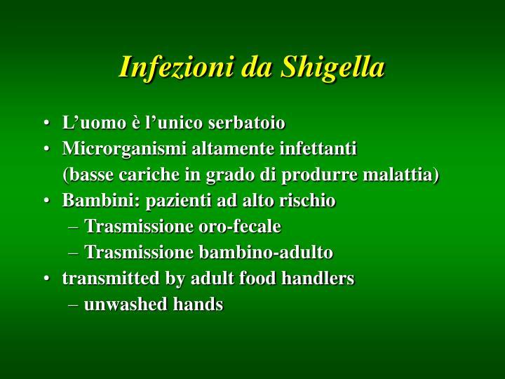 Infezioni da Shigella