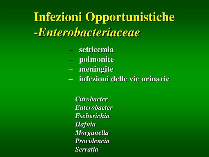 Infezioni Opportunistiche