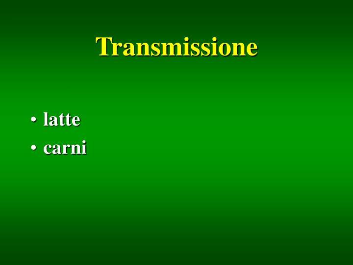 Transmissione