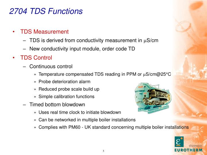 2704 TDS Functions