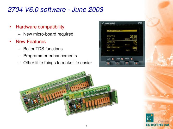 2704 v6 0 software june 2003