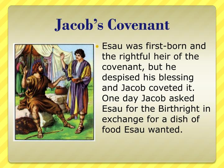 Jacob's Covenant