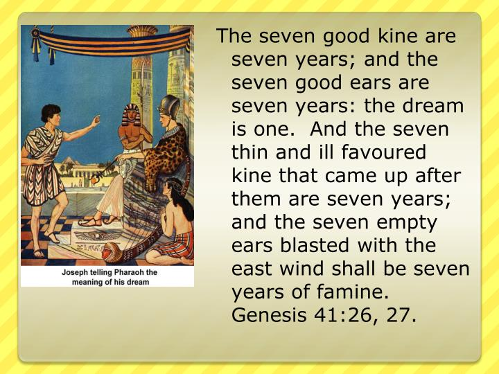 The seven good