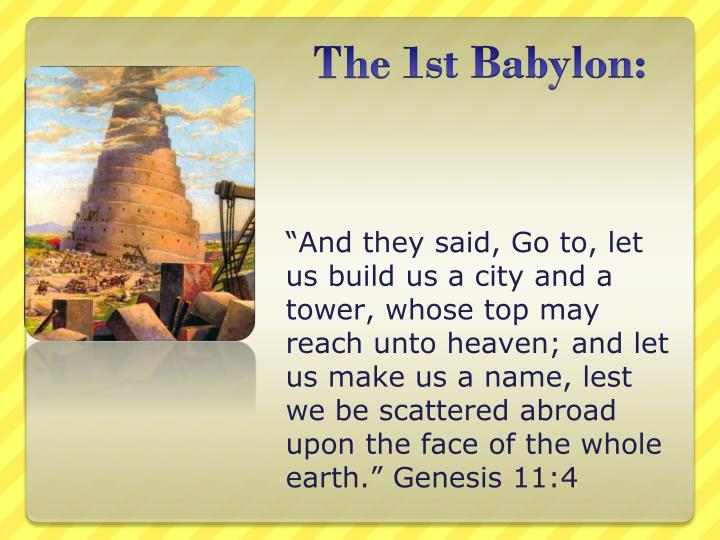 The 1st babylon