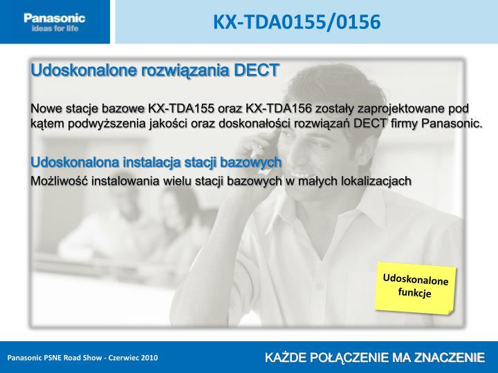 KX-TDA0155/0156