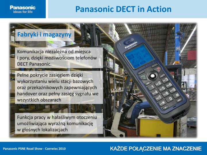 Panasonic DECT in Action