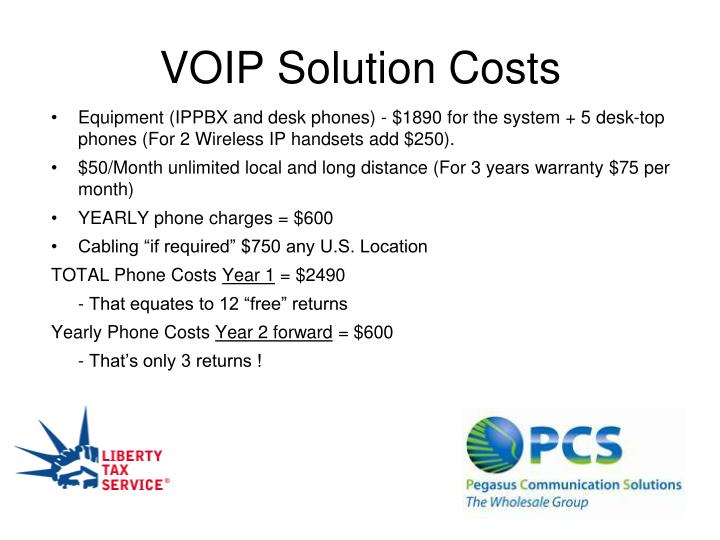 VOIP Solution Costs