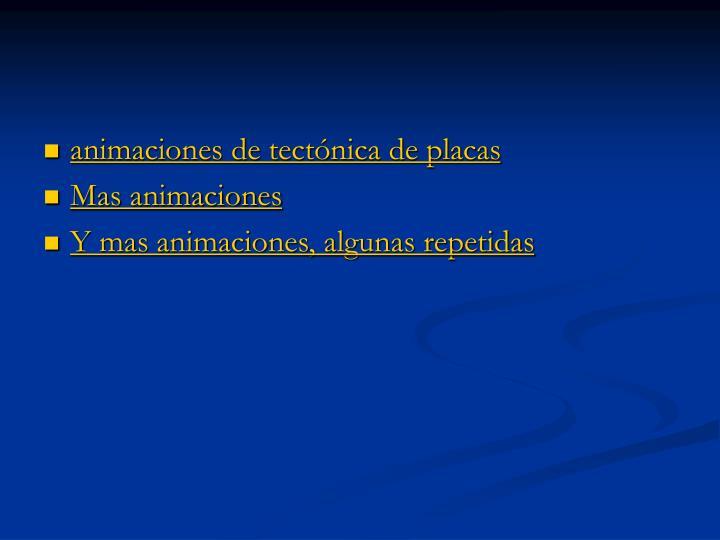 animaciones de tectónica de placas