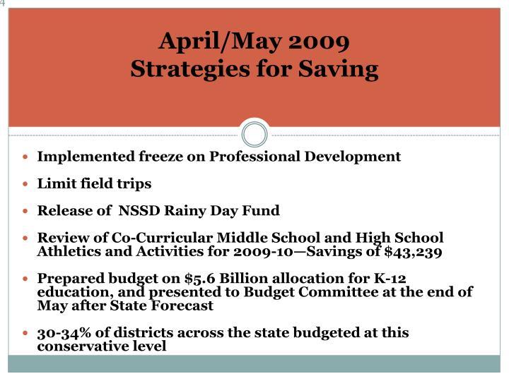 April/May 2009