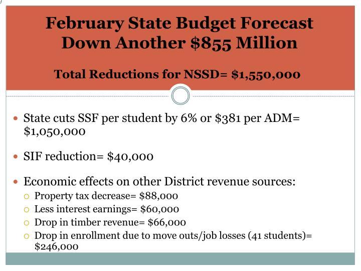 February State Budget Forecast