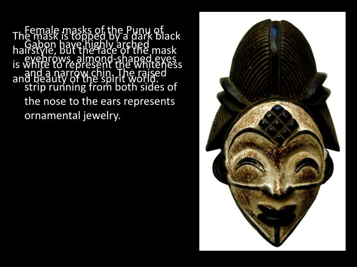 Female masks of the