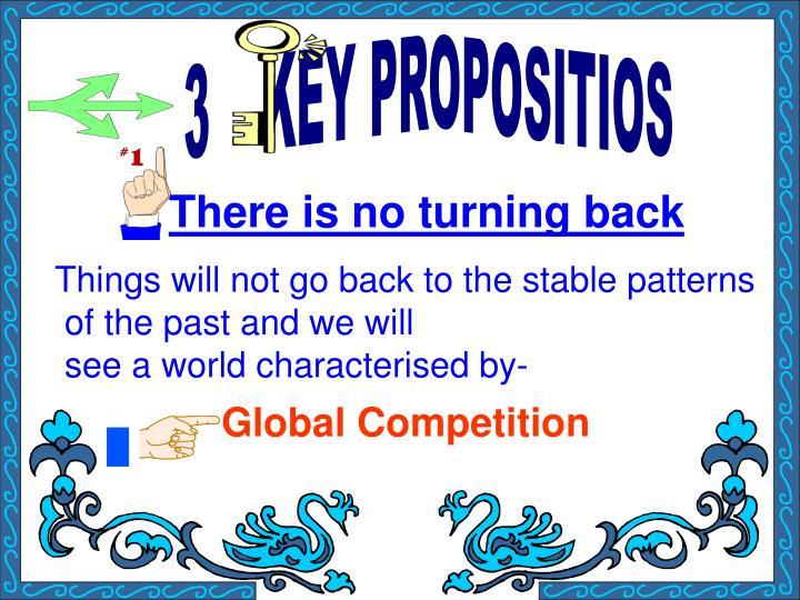 3    KEY PROPOSITIOS