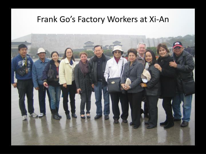 Frank Go's Factory Workers at Xi-An
