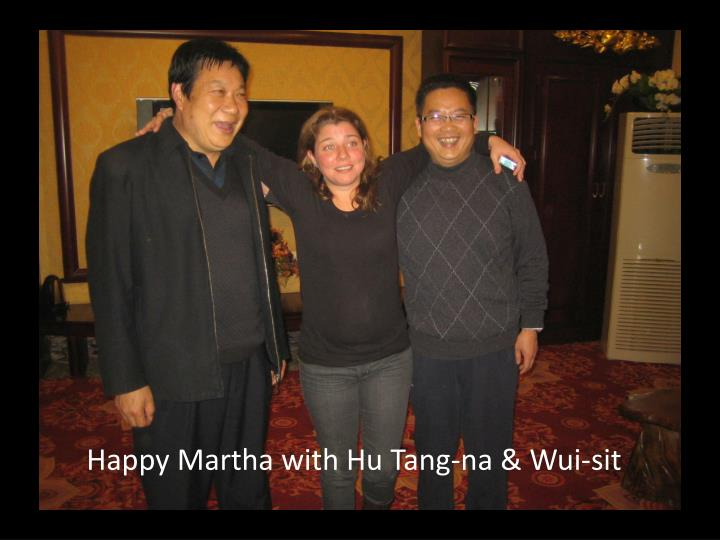 Happy Martha with Hu Tang-na & Wui-sit