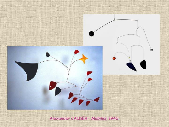 Alexander CALDER :