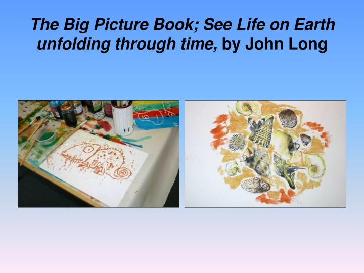 The Big Picture Book; See Life on Earth unfolding through time,