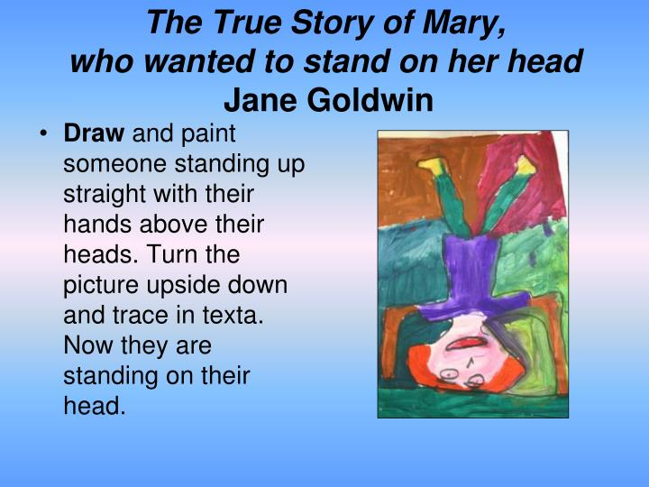 The True Story of Mary,