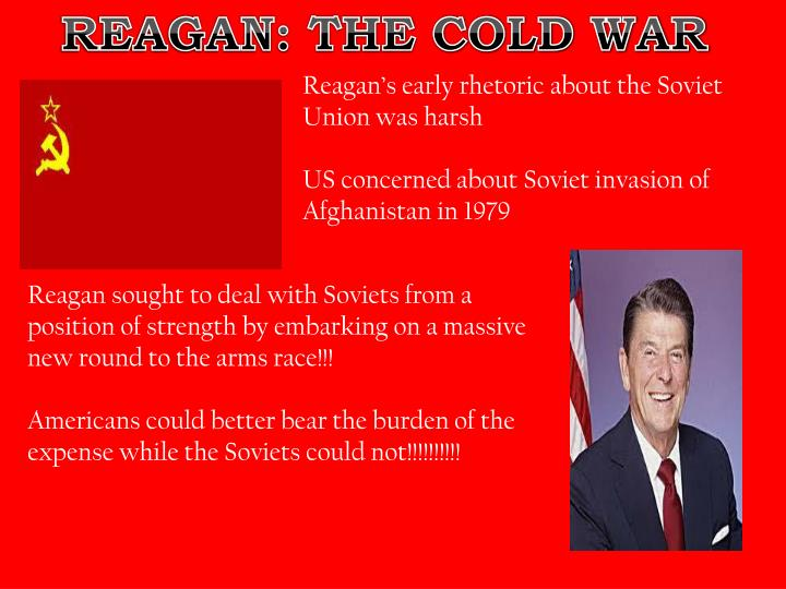 REAGAN: THE COLD WAR