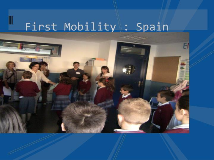First Mobility : Spain