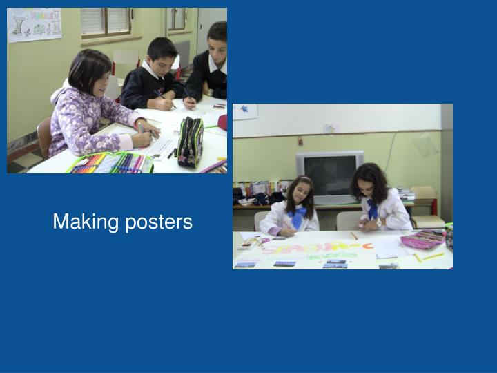Making posters